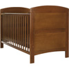 GRACE COT BED - WALNUT (FREE FOAM MATTRESS)