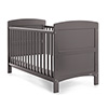 GRACE COT BED - TAUPE GREY