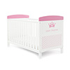 GRACE INSPIRE COT BED - LITTLE PRINCESS (FREE FIBRE MATTRESS)