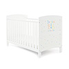 GRACE INSPIRE COT BED - DREAM BIG LITTLE ONE (FREE FOAM MATTRESS)