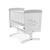 DISNEY WINNIE THE POOH GLIDING CRIB & MATTRESS - DREAMS & WISHES