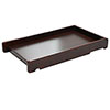 COT TOP CHANGER - WALNUT