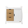 STAMFORD CHANGING UNIT - WHITE with ICED COFFEE