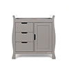 STAMFORD CHANGING UNIT - TAUPE GREY