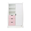 STAMFORD DOUBLE WARDROBE - WHITE with ETON MESS