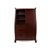 STAMFORD DOUBLE WARDROBE - WALNUT