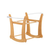 ROCKING MOSES BASKET STAND - COUNTRY PINE