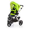 ABC DESIGN COBRA PUSHCHAIR (SILVER CHASSIS) - LIME