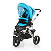 ABC DESIGN COBRA PUSHCHAIR (SILVER CHASSIS) - RIO