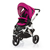ABC DESIGN COBRA PUSHCHAIR (SILVER CHASSIS) - GRAPE