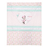 DISNEY MINNIE MOUSE QUILT & BUMPER SET - LOVE MINNIE