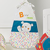 B IS FOR BEAR SLEEPING BAGS (0-6) - HAPPY SAFARI
