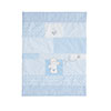 B IS FOR BEAR CRIB SET - BLUE