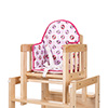 DISNEY HIGHCHAIR INSERT - MINNIE CIRCLES