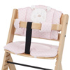 OBABY HIGHCHAIR B IS FOR BEAR PADDING - PINK