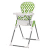 NANOFOLD HIGHCHAIR - DOTTY LIME