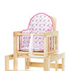 HIGHCHAIR INSERT - TINY TATTY TEDDY PINK