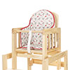HIGHCHAIR INSERT - TINY TATTY TEDDY RED