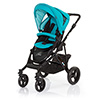 ABC DESIGN MAMBA PUSHCHAIR (BLACK CHASSIS) - CORAL