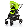 ABC DESIGN MAMBA PUSHCHAIR (BLACK CHASSIS) - LIME