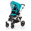 ABC DESIGN MAMBA PUSHCHAIR (SILVER CHASSIS) - CORAL