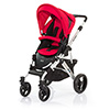 ABC DESIGN MAMBA PUSHCHAIR (SILVER CHASSIS) - CRANBERRY