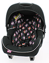 DISNEY GROUP 0+ INFANT CAR SEAT - MINNIE MOUSE inc ADAPTOR