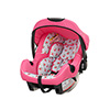 ZEAL GROUP 0+ CAR SEAT (WITH ZEAL ADAPTOR) - COTTAGE ROSE