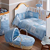 B is for Bear Blue Bedding