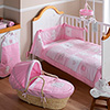 B is for Bear Pink Bedding